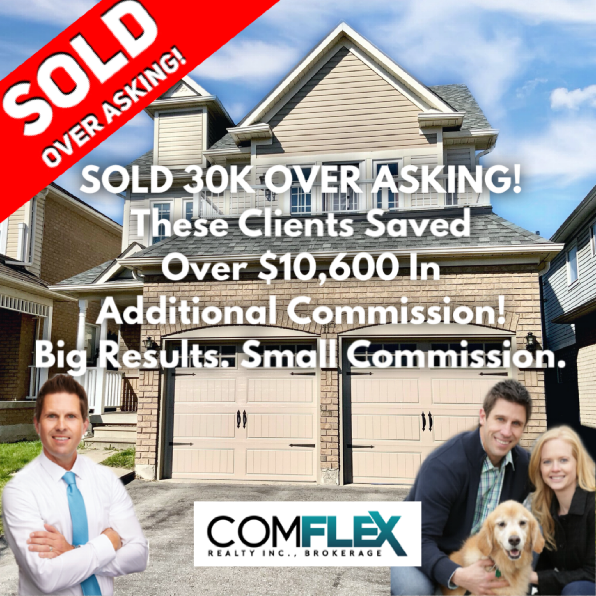 SOLD 30K OVER ASKING!  ADDITIONAL COMMISSION SAVINGS OF OVER $10,600