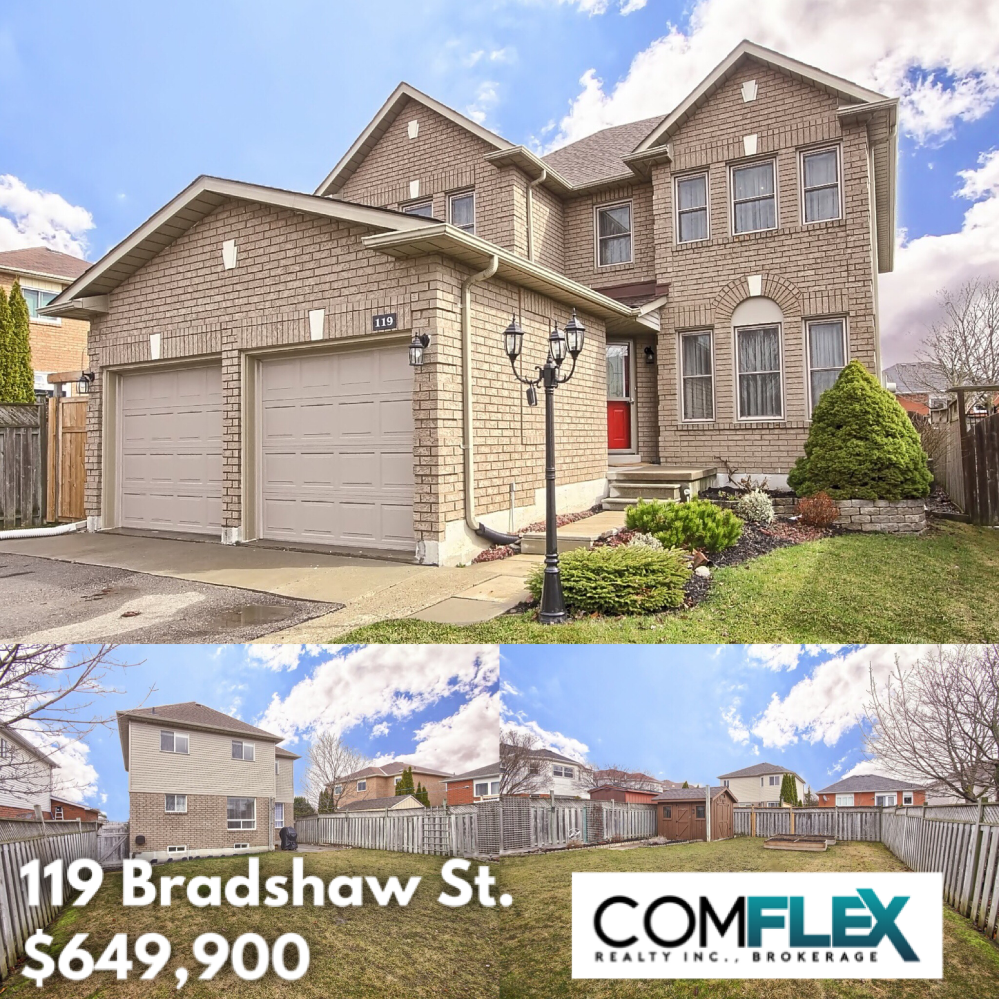 JUST LISTED! 119 BRADSHAW STREET, BOWMANVILLE