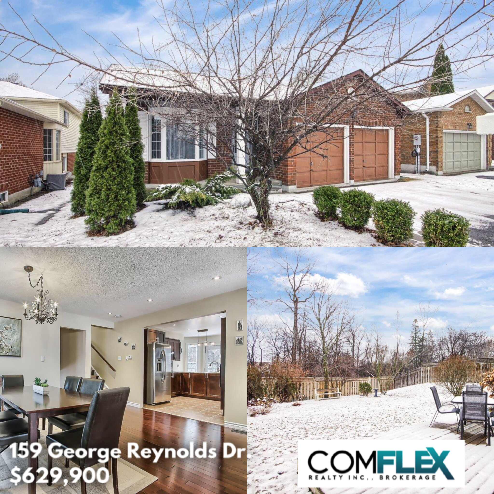 JUST LISTED! 159 GEORGE REYNOLDS DR., COURTICE