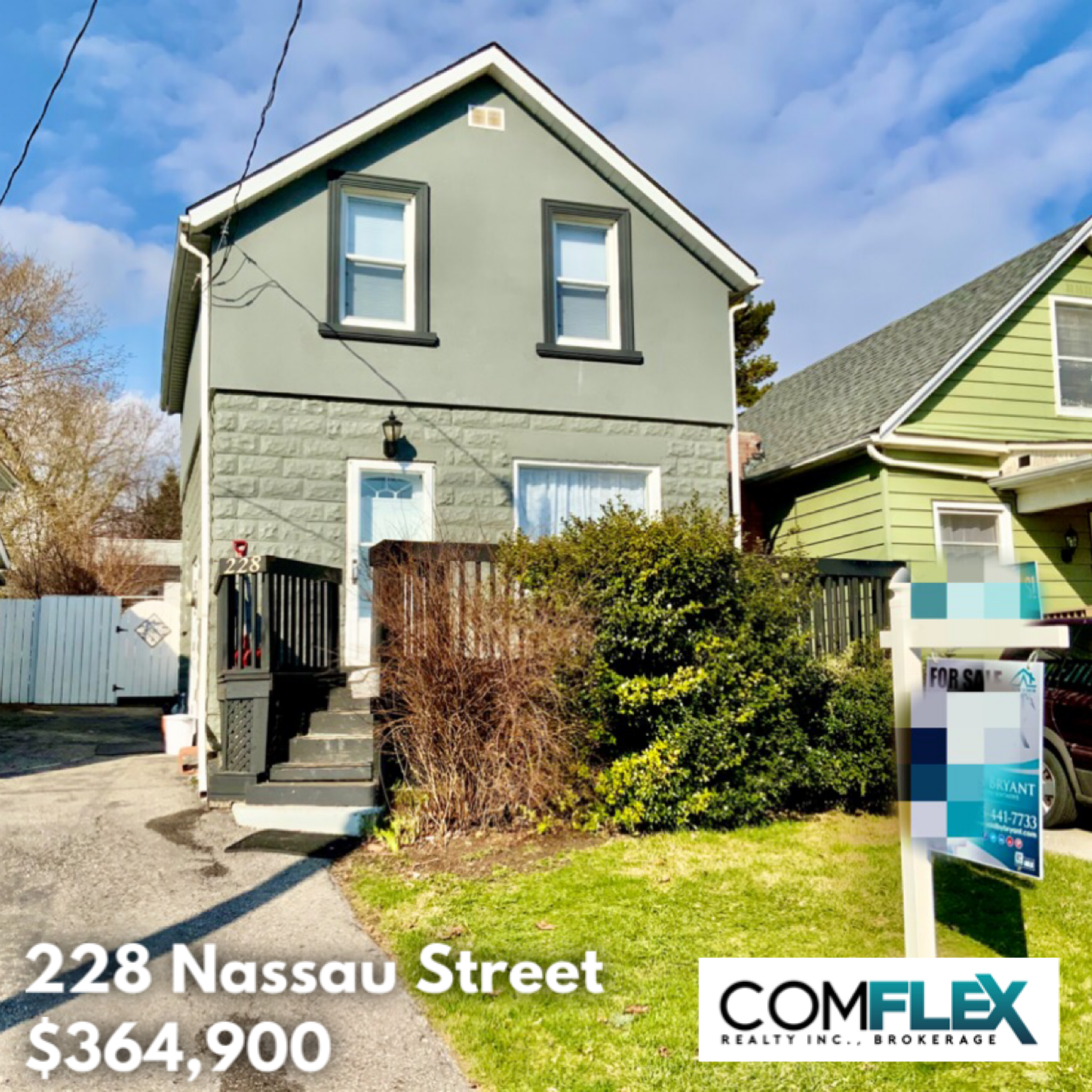 JUST LISTED! 228 NASSAU STREET