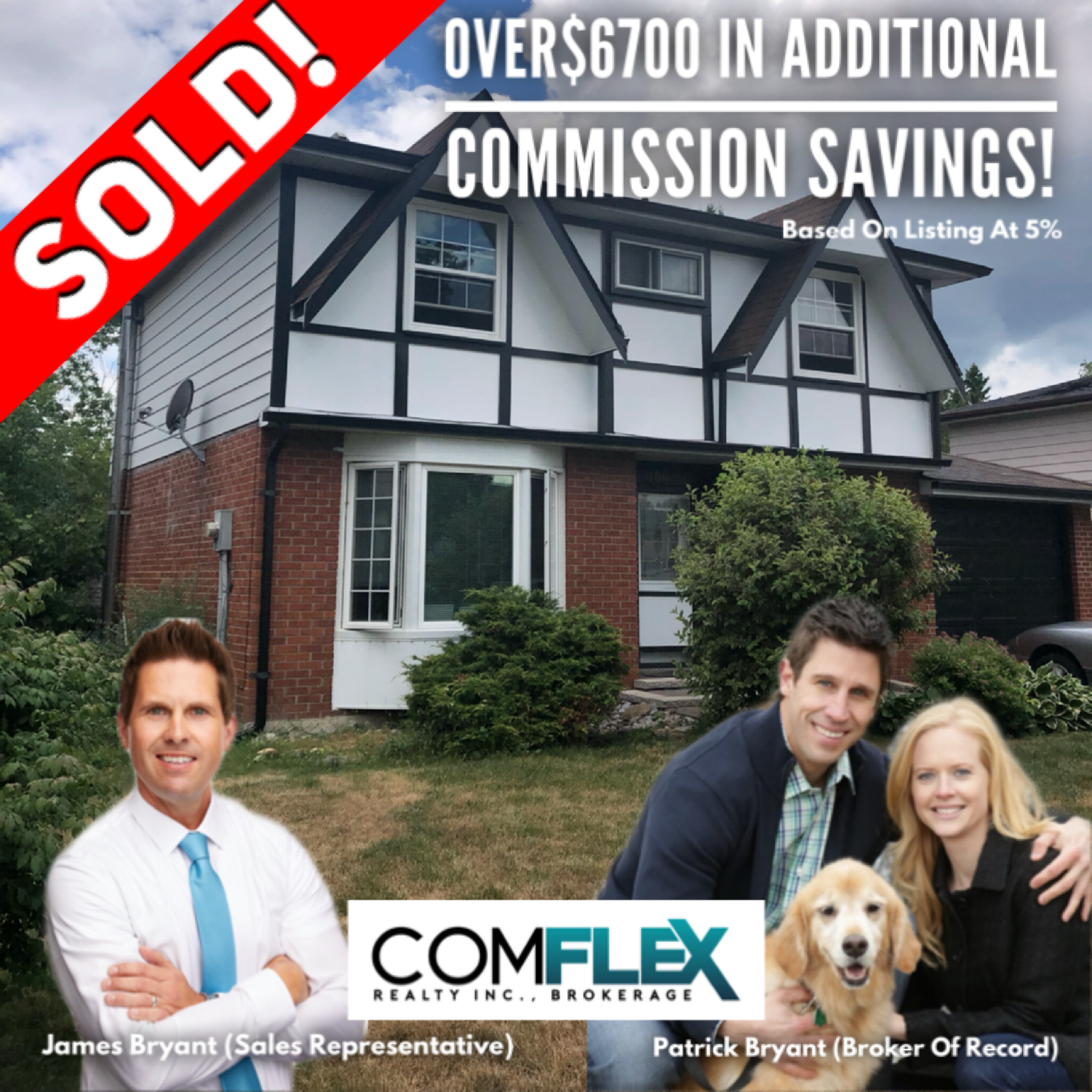SOLD! OVER $6700 IN ADDITIONAL COMMISSION SAVINGS!