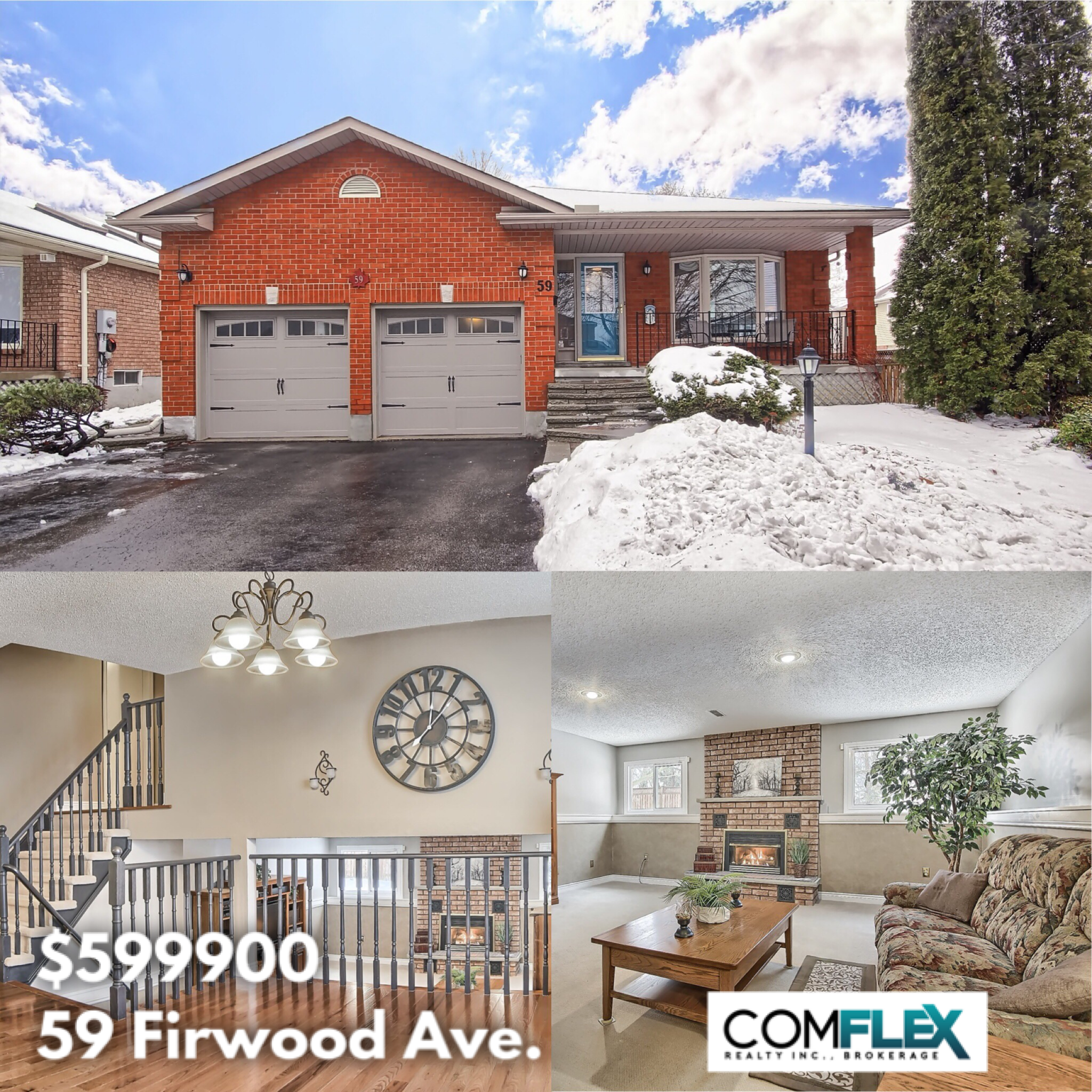 JUST LISTED! 59 FIRWOOD AVE., COURTICE