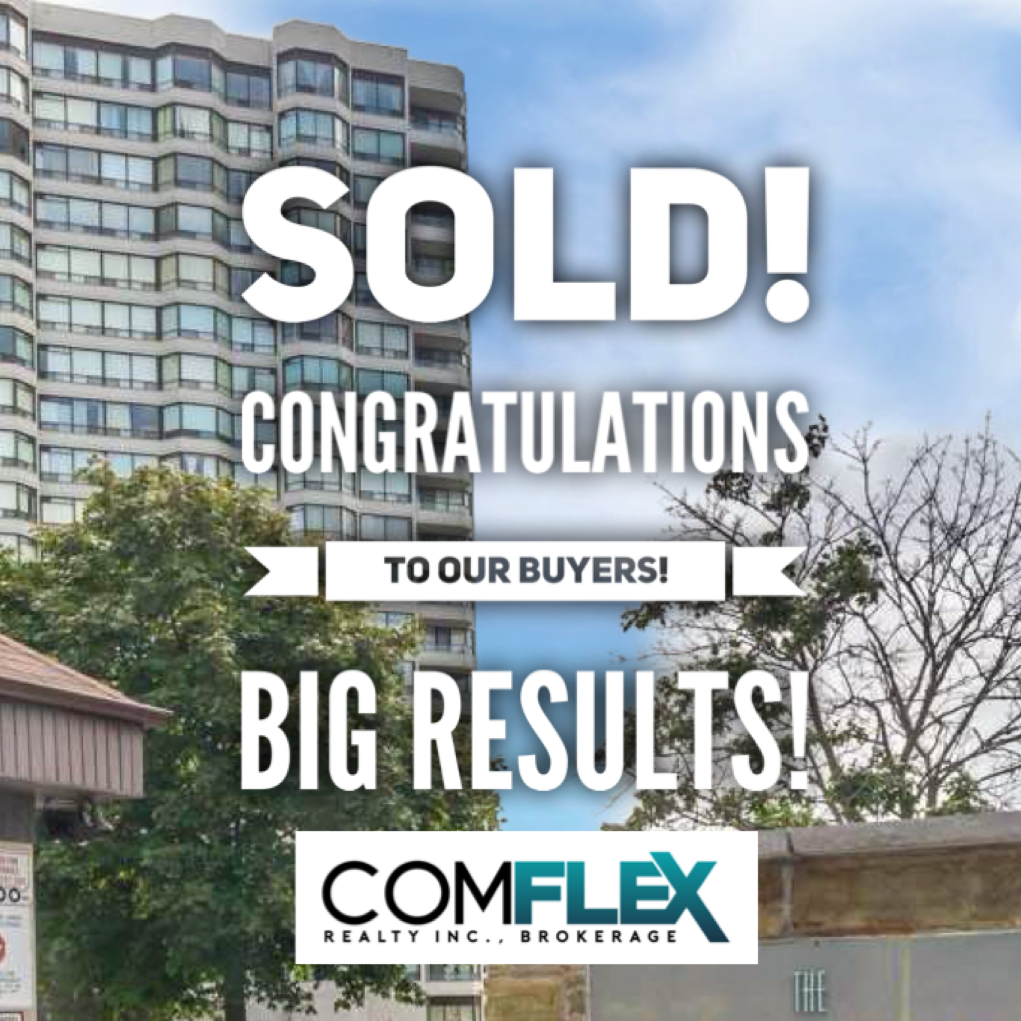 SOLD! CONGRATULATIONS TO OUR CLIENTS!